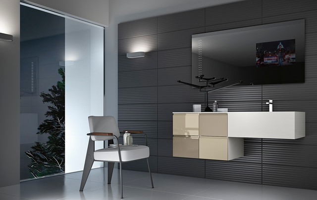 Modern bathroom vanities linear in san diego modern bathroom san diego by bkt loft for Bathroom vanities san diego