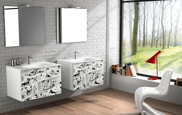 Modern Bathroom Vanities One In San Diego