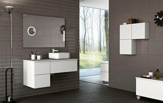 Modern bathroom vanities sahara in san diego for Bathroom vanities in san diego