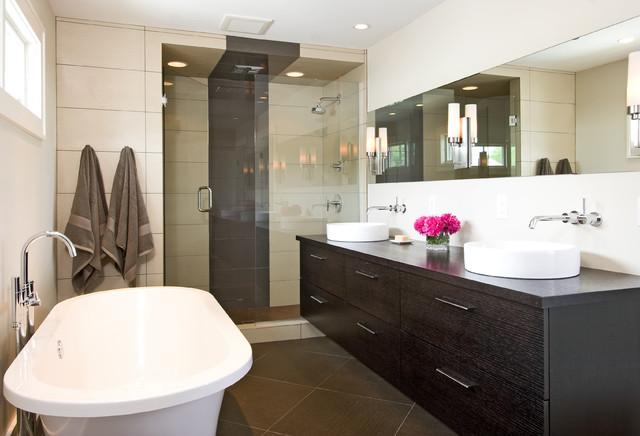 Modern Bathroom Shower Houzz