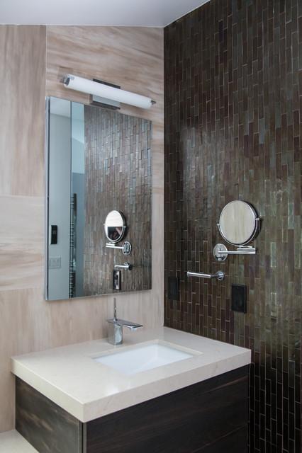 Modern Bathroom Woodland Hills Contemporary Bathroom