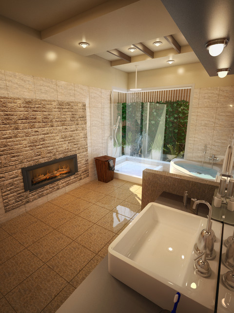 Modern Baths Modern Bathroom Chicago By Amer Adnan Associates