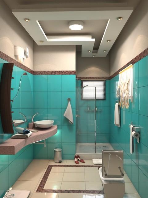 False Ceiling Design For Bathroom