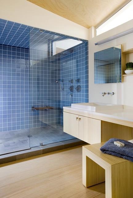 Modern Beach Home Bathrooms - Modern - Bathroom - boston - by ZeroEnergy Design