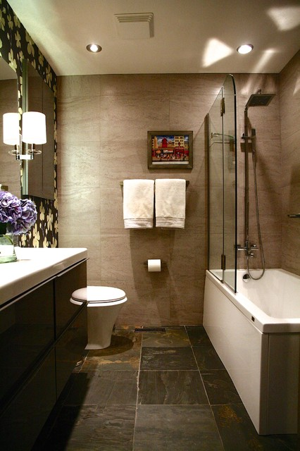 Modern Beauty modern-bathroom