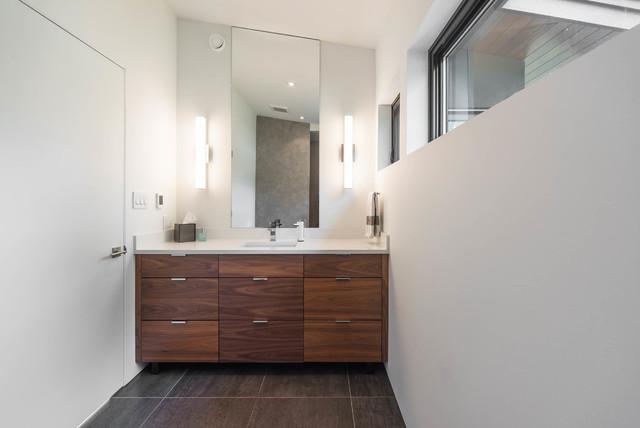 Modern Blend | Custom Home - Rétro - Salle de Bain ...