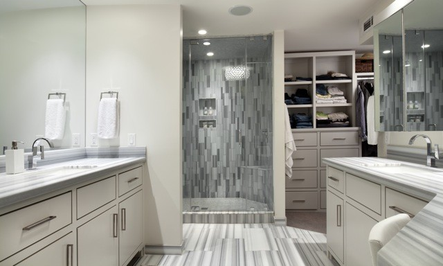 Modern Bungalow Modern Bathroom Oklahoma City By