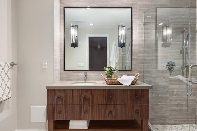 Modern chalet north vancouver design renovation for Bathroom design vancouver
