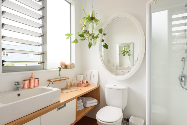 Charmant Photographers. Modern Character Bungalow Scandinavian Bathroom