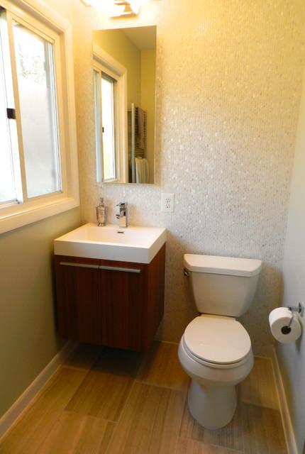 Modern Chic Master bathroom contemporary-bathroom