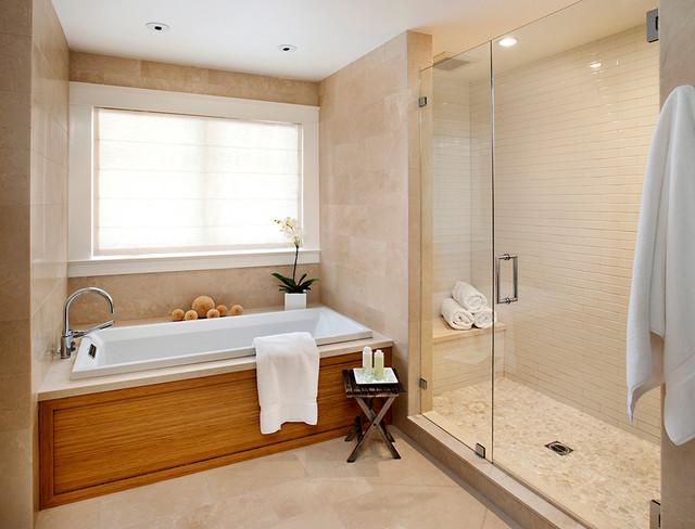 Modern classic contemporary-bathroom