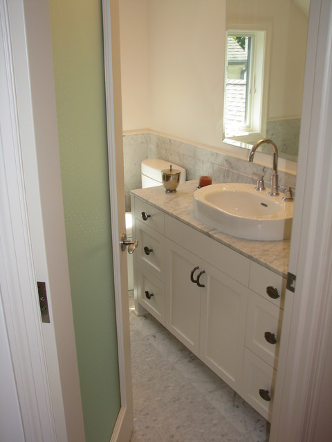 Modern Colonial Bathrooms: Modern Colonial Renovation