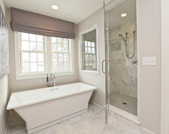 Modern Cottage Dream Home in Edina contemporary-bathroom