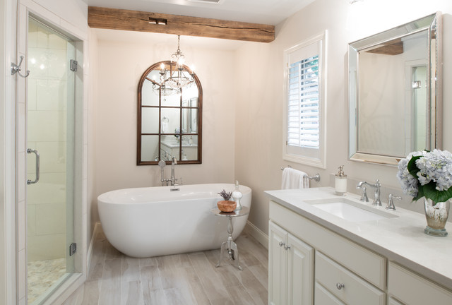 Cottage Style Kitchen Master Bath
