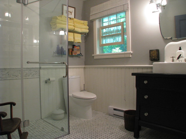 Modern Country Bathroom Traditional Bathroom Ottawa By Otta Decorate