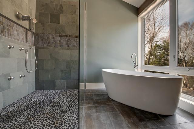 Contemporary Modern Country Bathroom