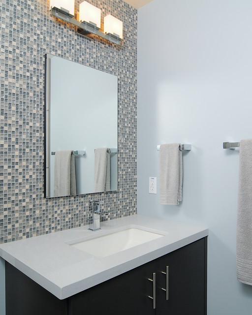 Modern Couples Retreat contemporary-bathroom