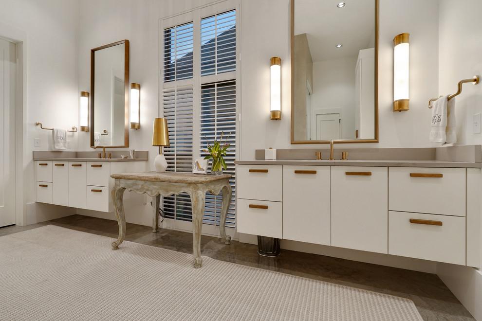 Modern Covington - Contemporary - Bathroom - New Orleans ...