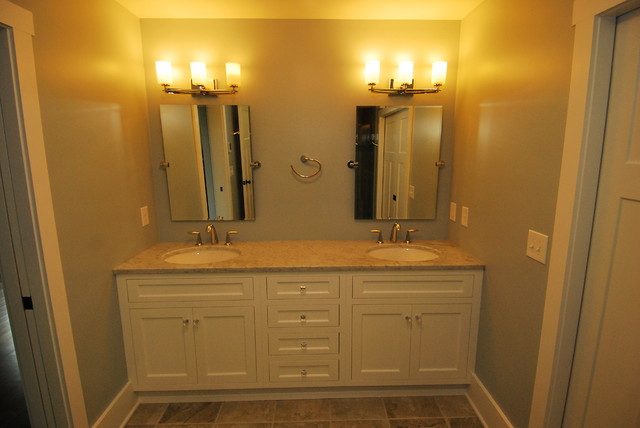 Modern Craftsman/Farmhouse transitional-bathroom