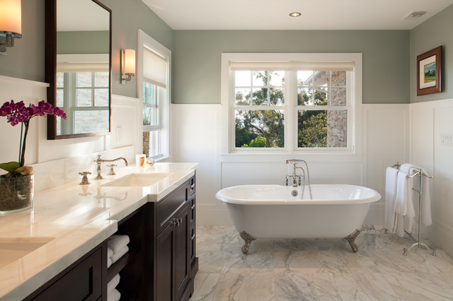 Modern craftsman traditional bathroom san diego by for Craftsman bathroom design