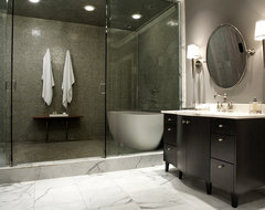 Modern Craftsman Master Bathroom contemporary-bathroom