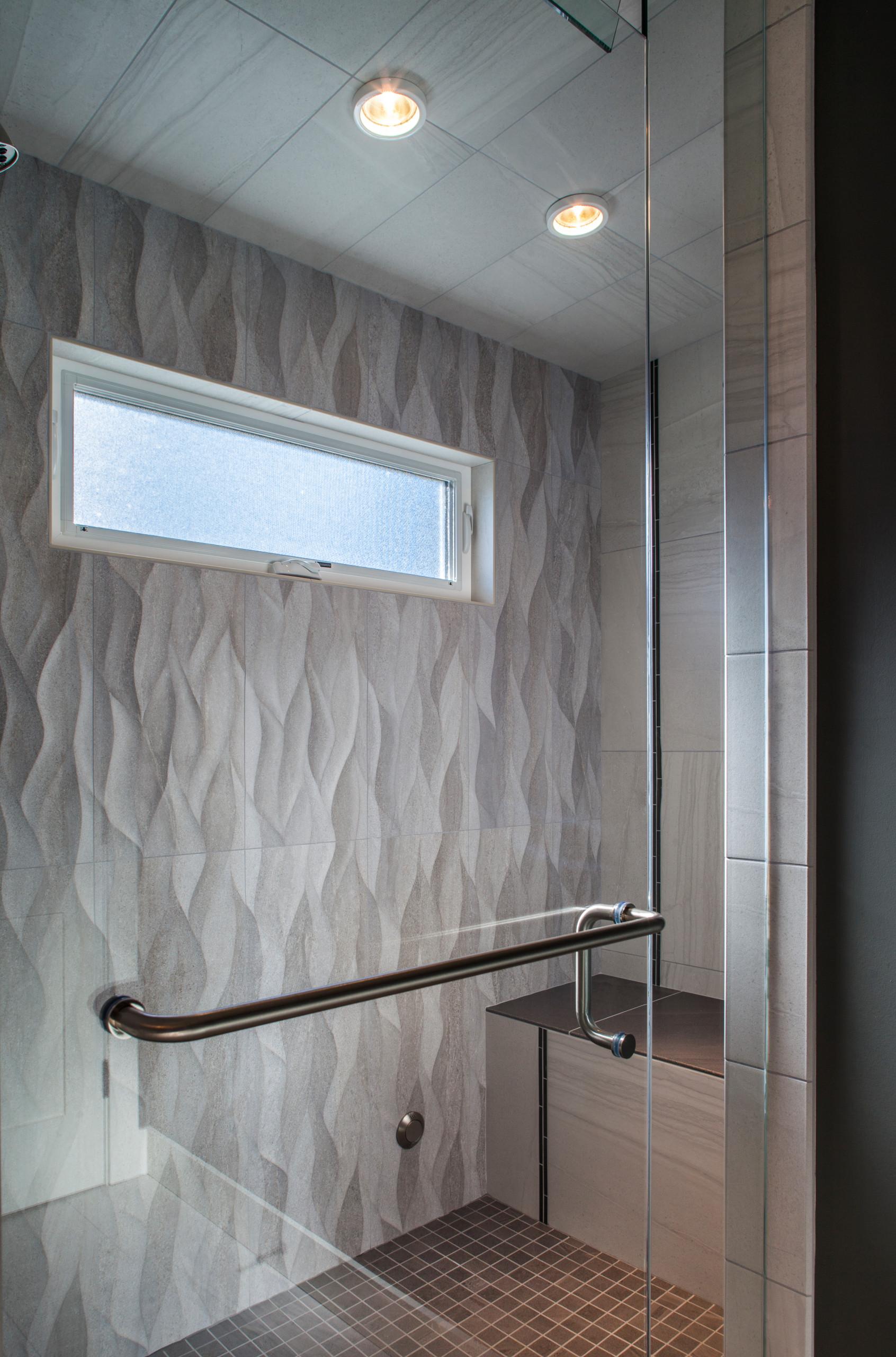 Modern Craftsman Style Bathroom Update