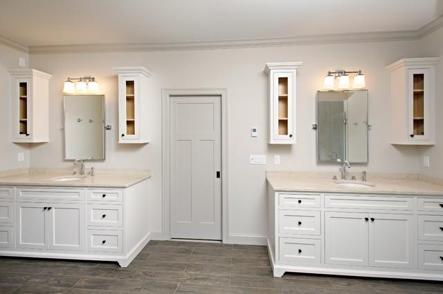 Craftsman Style House Bathroom : Modern craftsman style custom home bathroom