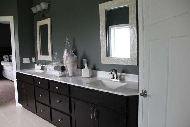 Modern Craftsman Style Home traditional-bathroom