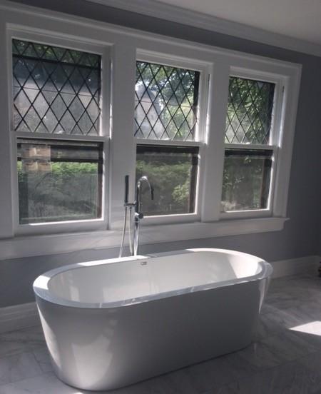 Modern Craftsmen bathroom
