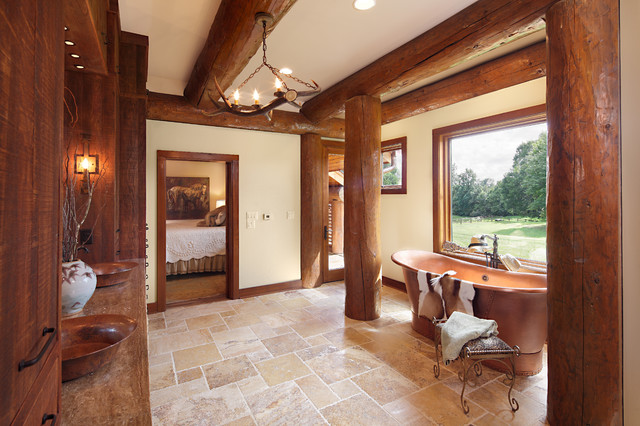 Modern Day Log Cabin - The Bowling Green Residence - Master ...