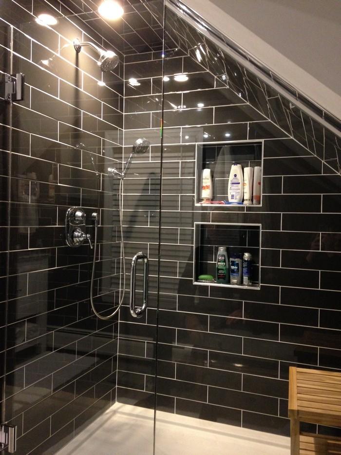 Modern Designer Bathroom Renovation - Contemporary ...