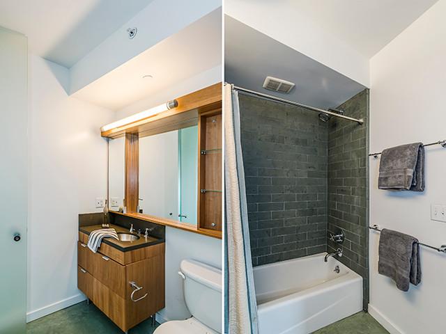 Modern Downtown Studio Apartment Modern Bathroom San