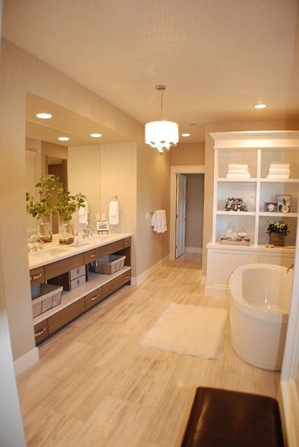 Modern Elegant Master Bath (HGTV) contemporary bathroom