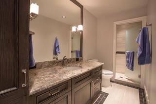 Modern Family Rebuild Modern Bathroom Omaha By Kurt Johnson Photography