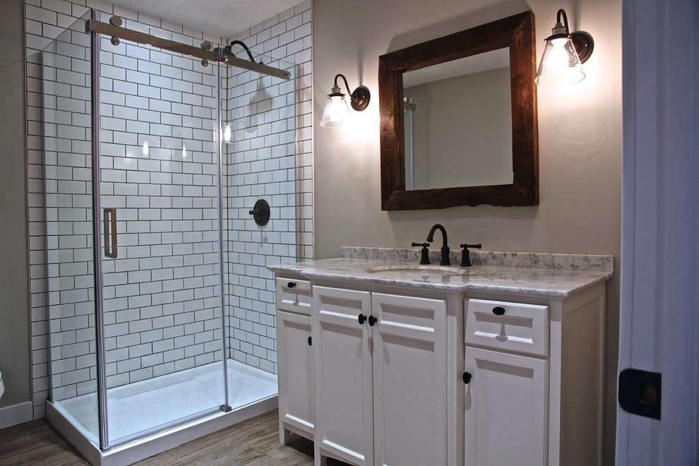 Modern Farmhouse - Contemporary - Bathroom - Calgary - by ...
