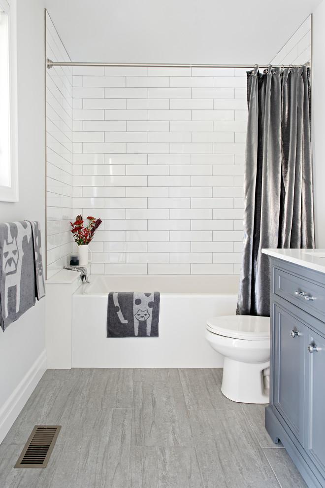 modern farmhouse  transitional  bathroom  toronto