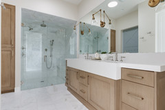 5 Ways to Open Up a Windowless Bathroom