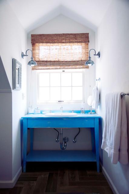 modern farmhouse landhausstil badezimmer san. Black Bedroom Furniture Sets. Home Design Ideas