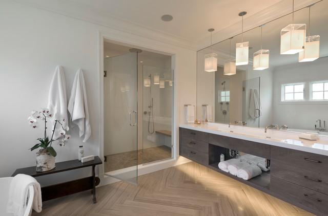 Modern Farmhouse Master Bathroom Modern Bathroom New