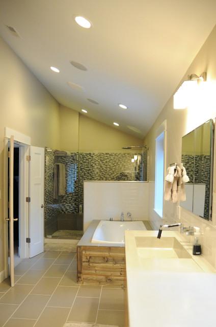 Modern Farmhouse Modern Bathroom St Louis By Rethink Renovations