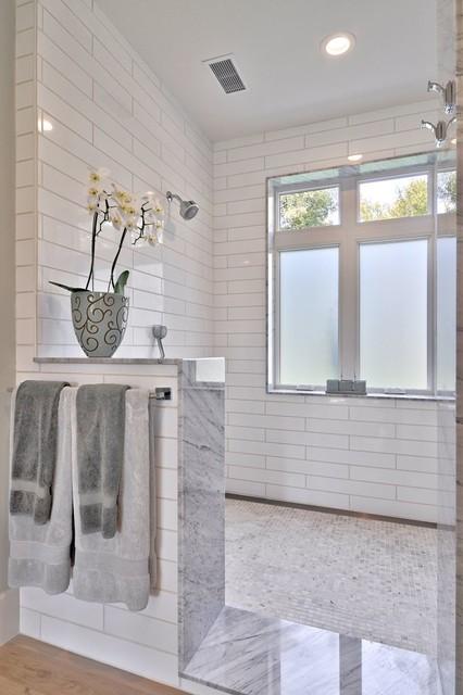 Modern Farmhouse Bathroom modern farmhouse - farmhouse - bathroom - austin -tim brown