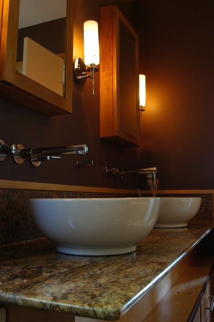 Modern Farmhouse - Asian - Bathroom - Raleigh - by Zipper ...