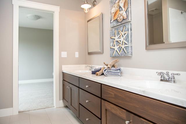Modern Glam - Modern - Bathroom - minneapolis - by LDK Custom Homes