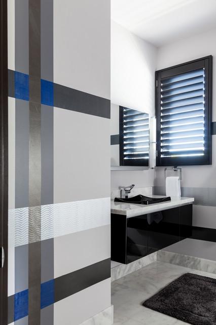 Modern Glamour contemporary-bathroom