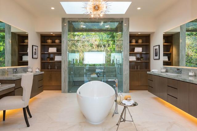 Modern contemporary-bathroom