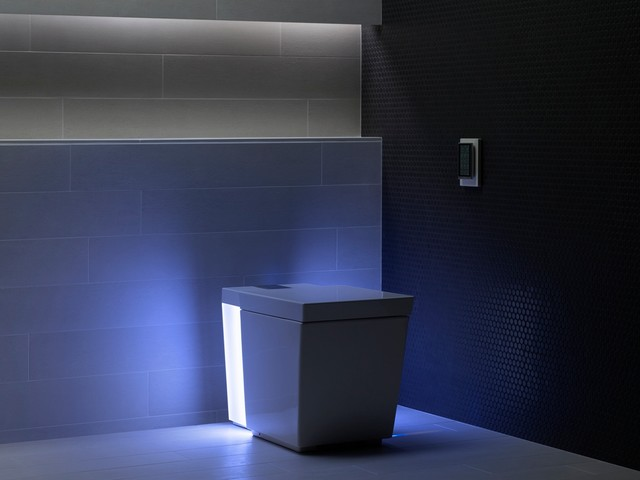 Modern High Tech Toilet Contemporary Bathroom