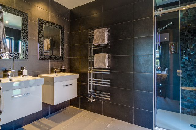 Modern home in belfast modern bathroom northern for Bathroom ideas belfast