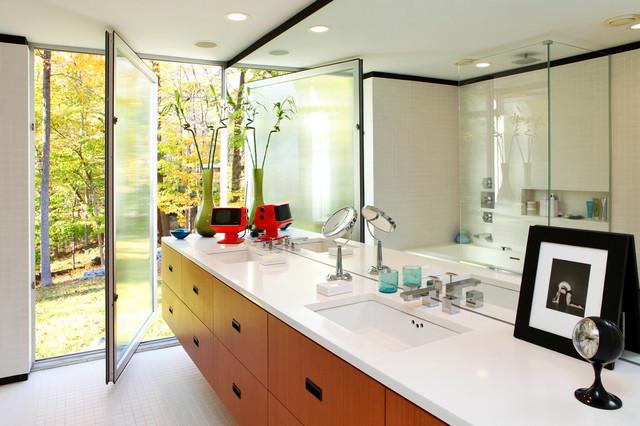 Modern Home Restorations modern-bathroom