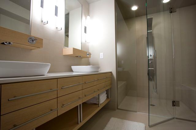 Modern Hopkins Home modern-bathroom