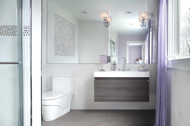 Modern in Montvale contemporary-bathroom